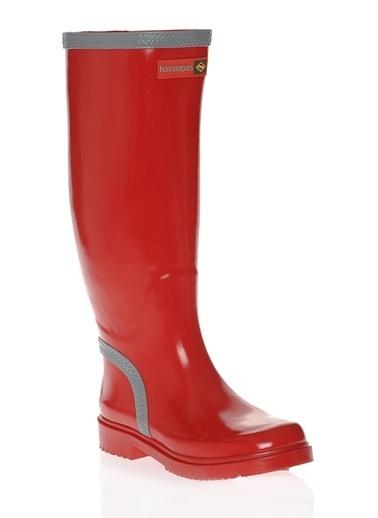 Havaianas Yağmur Çizmesi Kırmızı